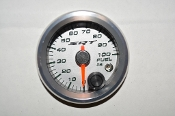 SRT FUEL PRESSURE GAUGE 0-100 PSI W/WARNING