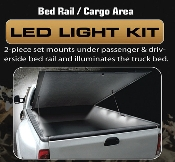 Universal Cargo Area / Bed Rail Light Kit