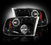 Ram 09/12 1500 10-12 2500/3500 PROJECTOR HEADLAMPS
