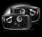 Projector Headlights Dodge RAM 06-08