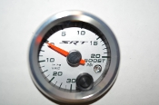 SRT 0-20PSI  BOOST/VACCUM  GAUGE W/WARNING